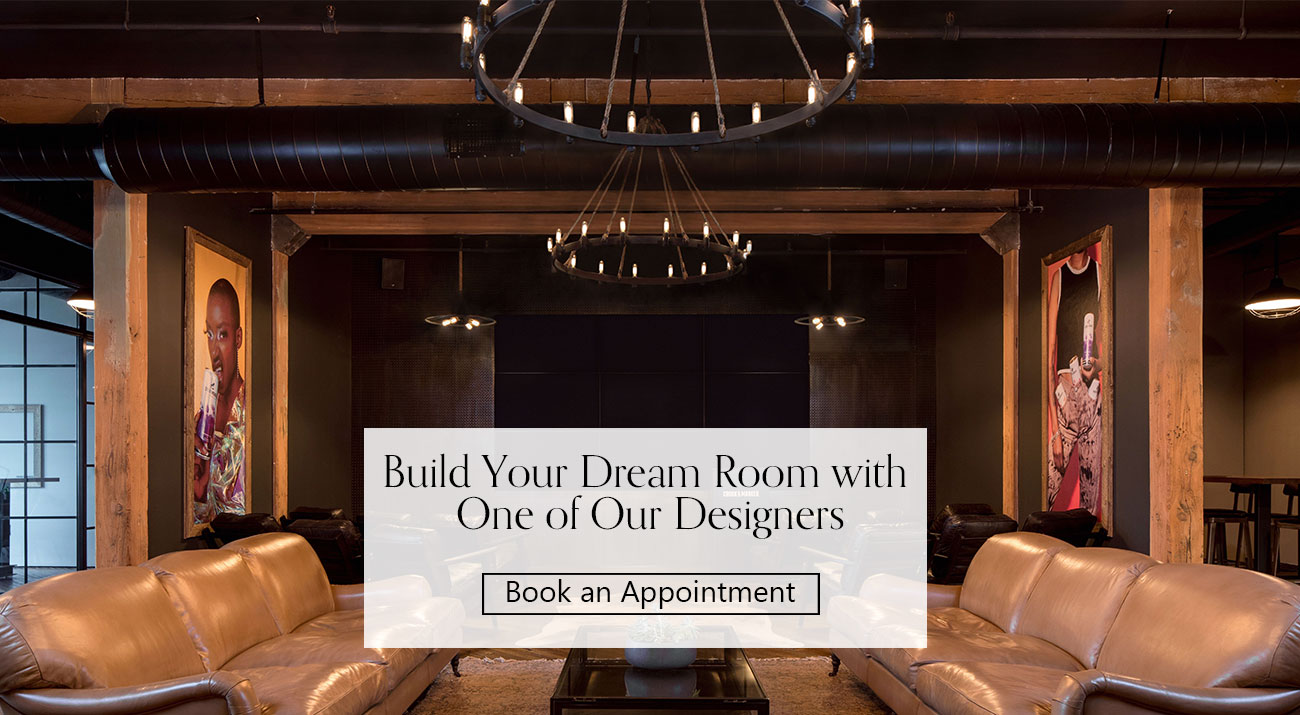 Build your dream room with one of our designers